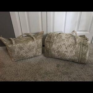 Verá Bradley travel bags